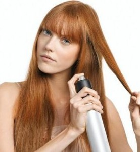 coiffure-domicile-laque-cheveux