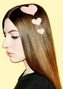 Killerstrands hair clinic - stenciling of hair 96